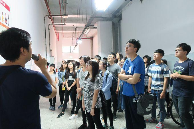 107年5月7日參訪台灣菸酒股份有限公司台中酒廠